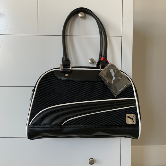 PUMA Mesh Grip Bag Women Hand Bags